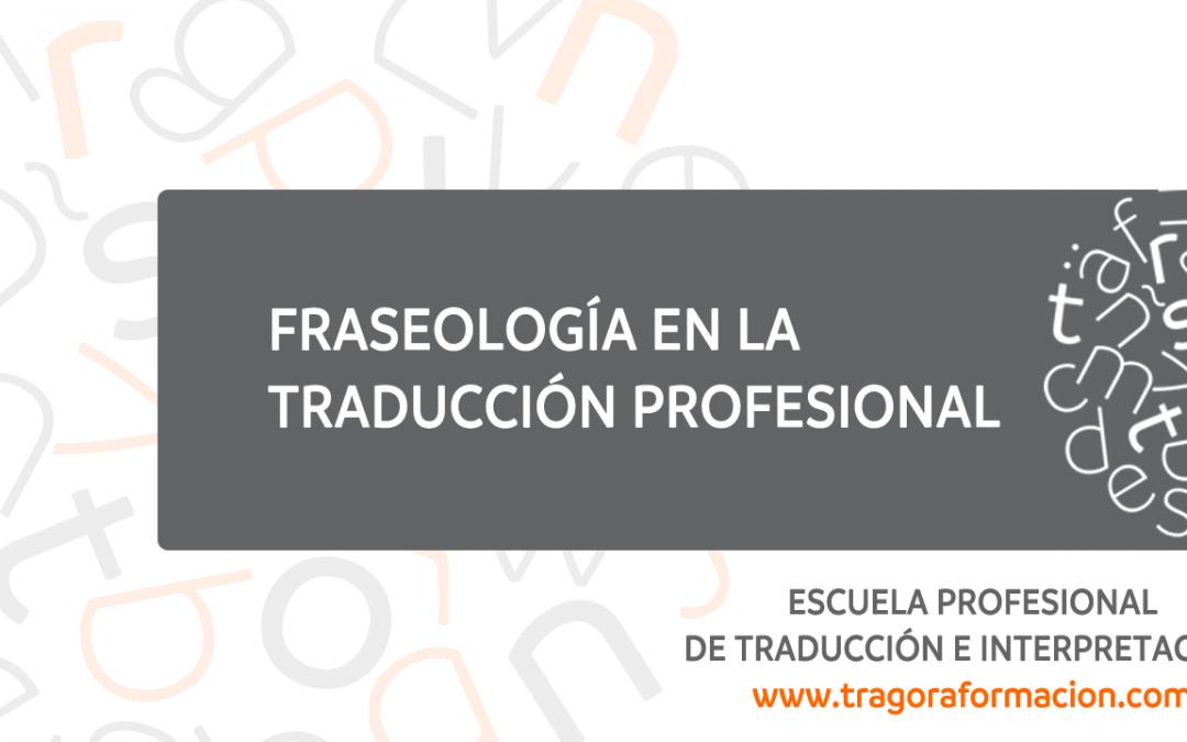 Fraseología en traducción