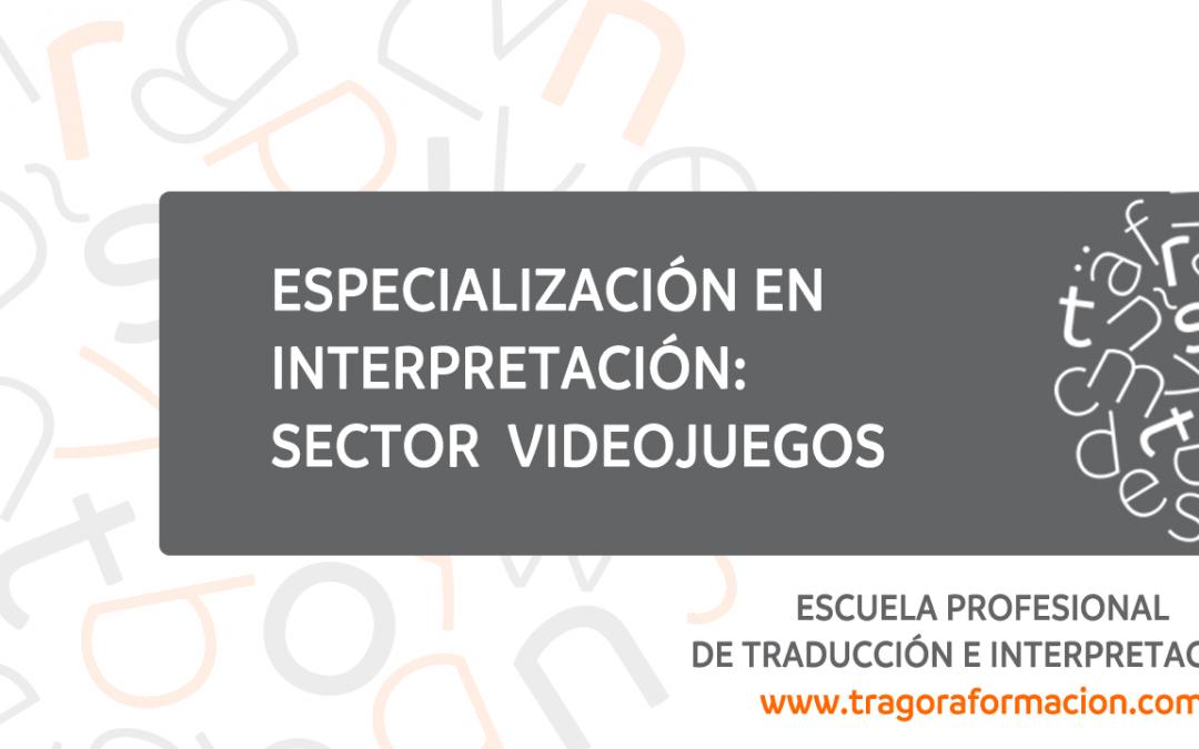 Curso online de interpretación especializada en el sector de los videojuegos