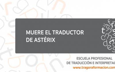 Muere el traductor de Astérix