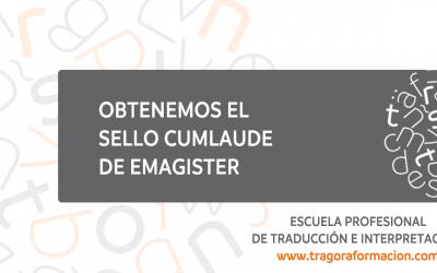 Trágora Formación recibe el sello CumLaude 2018 de Emagister