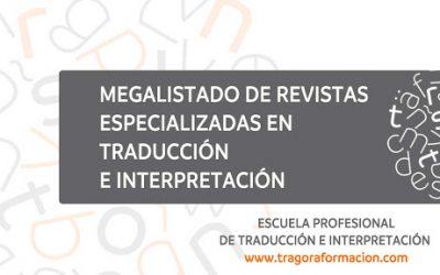 Megalistado de revistas especializadas en traducción e interpretación