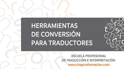 Herramientas de conversión para traductores