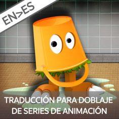 curso traduccion animacion series cine