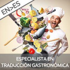 Curso traducción y gastronomía