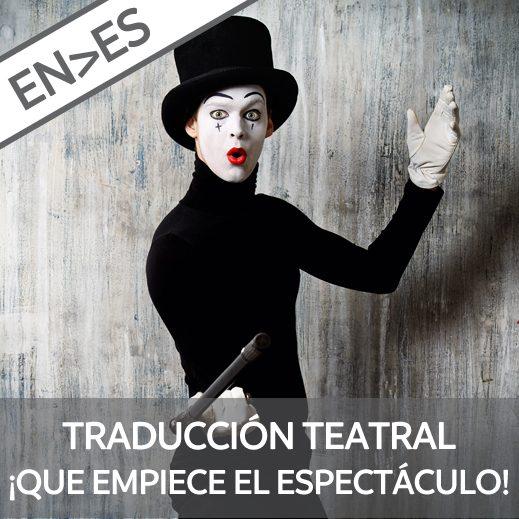 curso traducción teatral